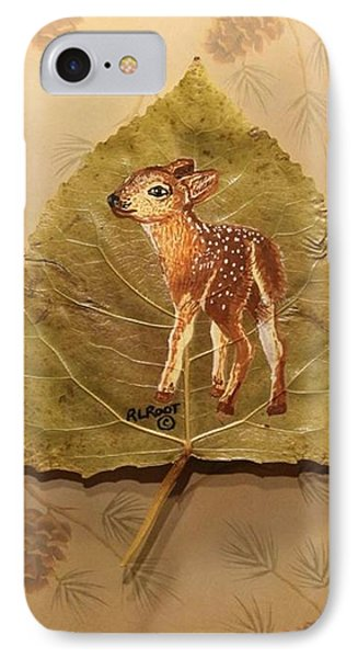 Pretty Baby Deer IPhone Case by Ralph Root