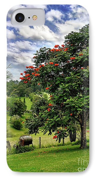 Pretty Countryside Phone Case by Kaye Menner