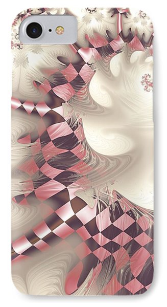 IPhone Case featuring the digital art Pretty Gnarly by Michelle H