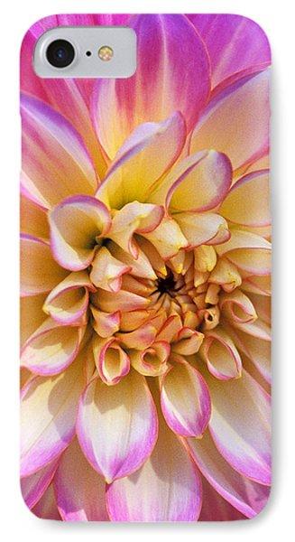 Pretty In Pink Dahlia Phone Case by Kathy Yates