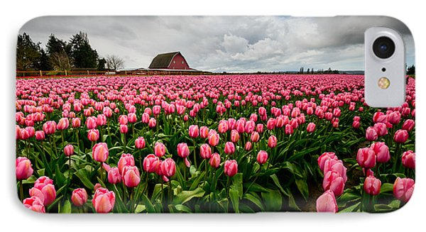 IPhone Case featuring the photograph Pretty In Pink by Dan Mihai