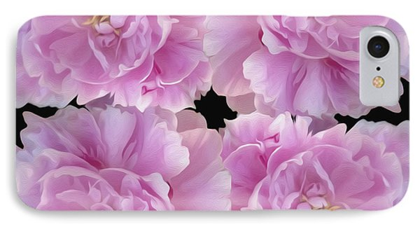 Pretty In Pink IPhone Case by Linda Constant