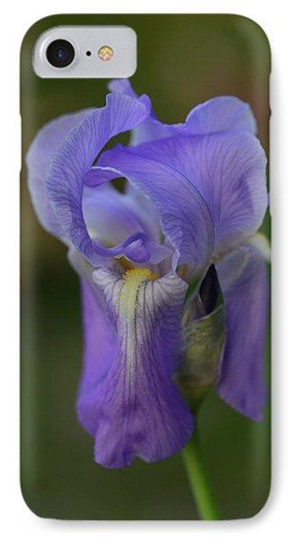 Pretty In Purple IPhone Case by Teresa Tilley