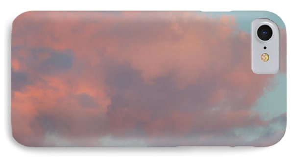 IPhone Case featuring the photograph Pretty Pink Clouds by Ana V Ramirez