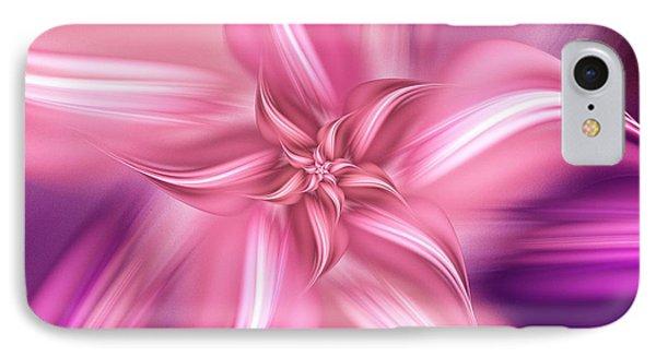 Pretty Pink Flower IPhone Case by Anastasiya Malakhova