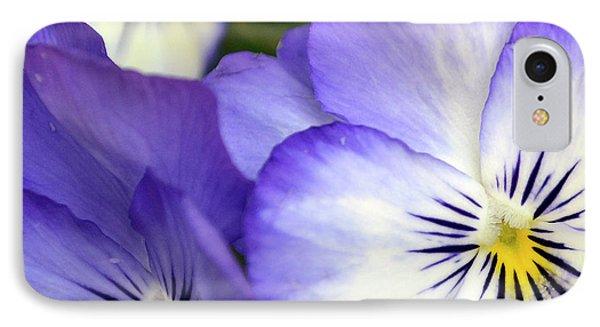 Pretty Violas IPhone Case by Ann Bridges