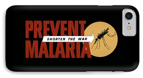 Prevent Malaria - Shorten The War  Phone Case by War Is Hell Store