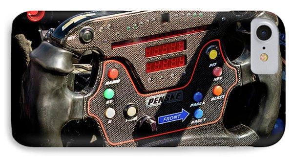 Pricey Steering Wheel IPhone Case by Webb Canepa