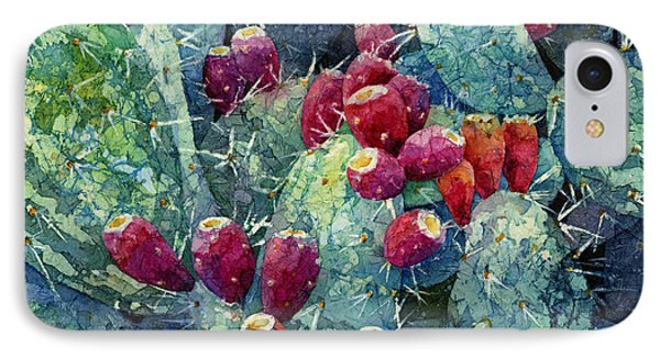 Prickly Pear 2 IPhone Case by Hailey E Herrera
