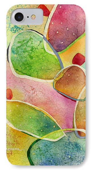 IPhone Case featuring the painting Prickly Pizazz 1 by Hailey E Herrera