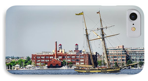 Pride Of Baltimore IPhone Case by Bill Cannon