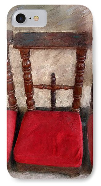 Prie Dieu - Prayer Kneeler IPhone Case by Enzie Shahmiri