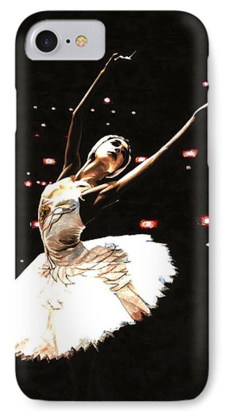 Prima Ballerina Phone Case by Richard Young