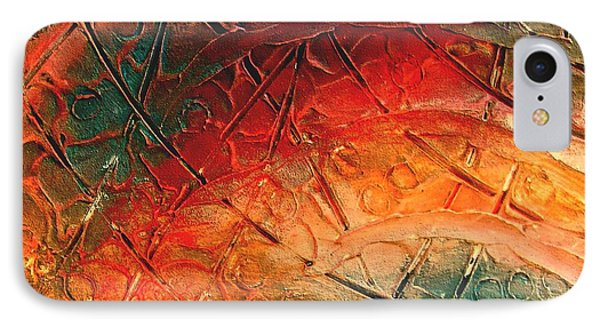 Primitive Abstract 1 By Rafi Talby Phone Case by Rafi Talby