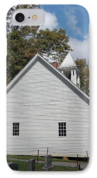 Primitive Baptist Church Est 1827 IPhone Case by DigiArt Diaries by Vicky B Fuller