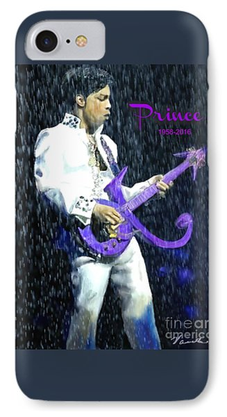 Prince 1958 - 2016 IPhone Case by Vannetta Ferguson