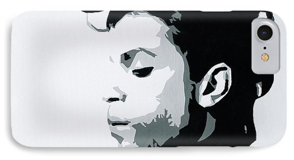 IPhone Case featuring the painting Prince by Ashley Price