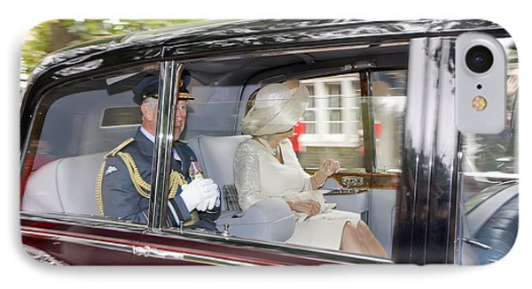 Prince Charles And Camilla IPhone Case by KG Thienemann