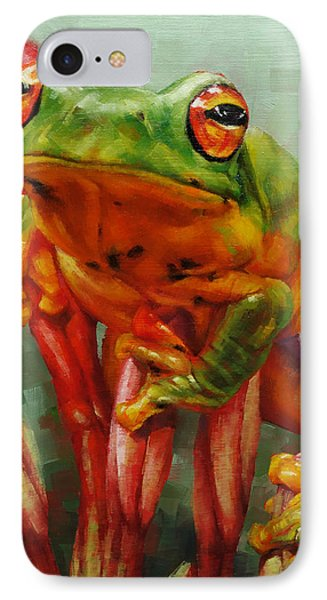 Prince Charming In Disguise IPhone Case by Margaret Stockdale