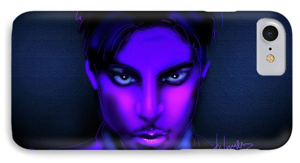 Prince IPhone Case by DC Langer