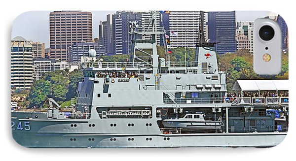 Prince Harry Onboard Leeuwin IPhone Case