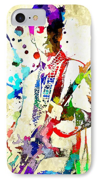 Prince In Concert IPhone Case by Daniel Janda