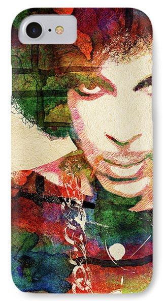 Prince IPhone Case by Mihaela Pater