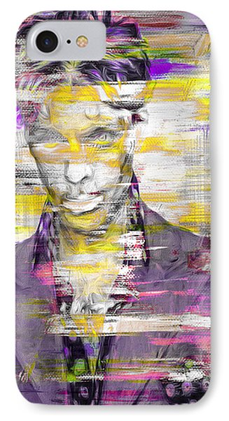 Prince Musician Digital Painting 4 IPhone Case