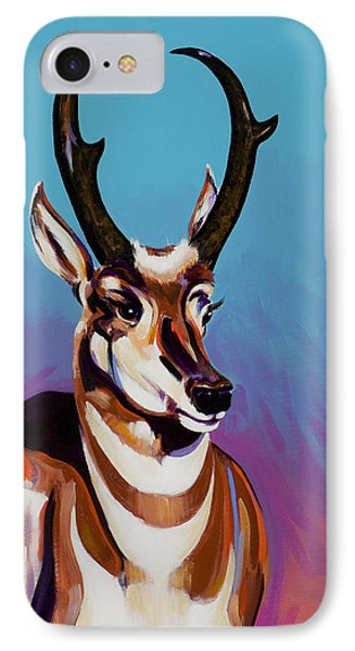 IPhone Case featuring the painting Prince Of The Prairies by Bob Coonts