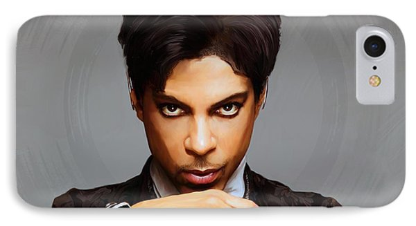 Prince IPhone 7 Case by Paul Tagliamonte