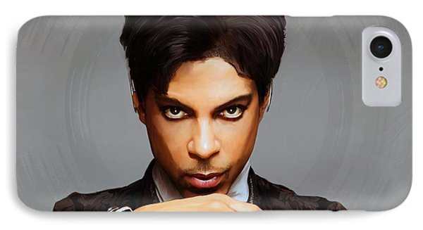 Prince IPhone Case by Paul Tagliamonte