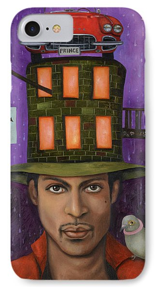 Prince Pro Image Phone Case by Leah Saulnier The Painting Maniac