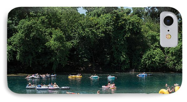 Prince Solms Park On The Comal River In New Braunfels IPhone Case by Carol M Highsmith