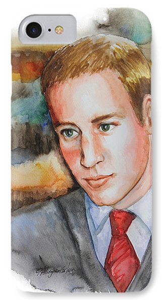 Prince William IPhone Case