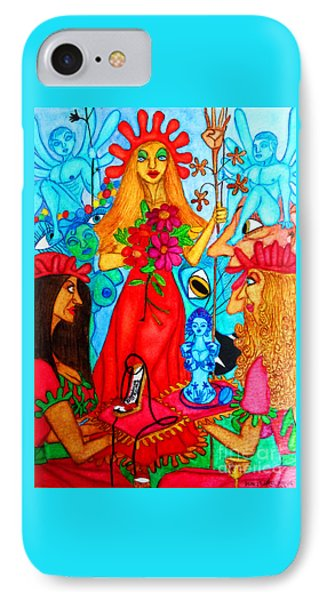 IPhone Case featuring the painting Princess Countrywoman. by Don Pedro De Gracia