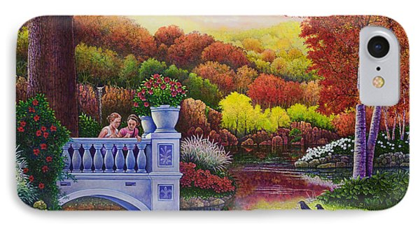 Princess Gardens IPhone Case by Michael Frank