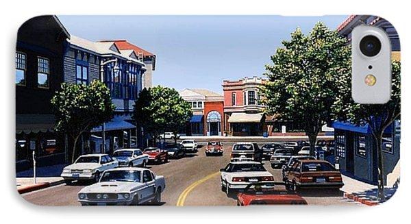 Princess Street Sausalito IPhone Case by Frank Dalton