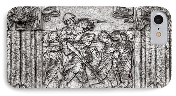 Princeton University Battle Commemorative Plaque IPhone Case by Olivier Le Queinec