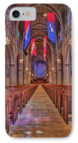 IPhone Case featuring the photograph Princeton University Chapel by Susan Candelario