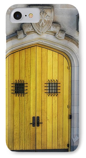 Princeton University Community Hall Door IPhone Case
