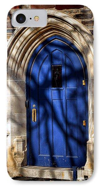 Princeton University Dorm Building Door IPhone Case