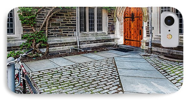 IPhone Case featuring the photograph Princeton University Foulke Hall by Susan Candelario