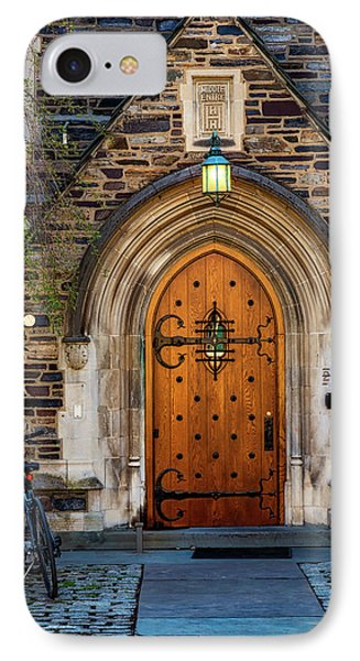 IPhone Case featuring the photograph Princeton University Henry Hall by Susan Candelario