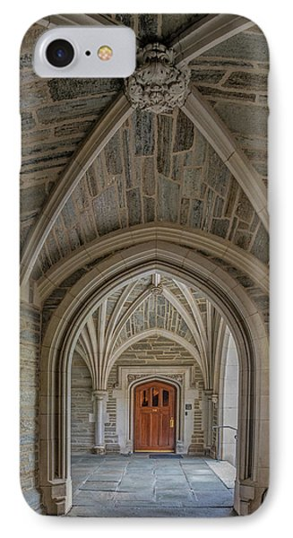 Princeton University Holder Hall Arches IPhone Case by Susan Candelario