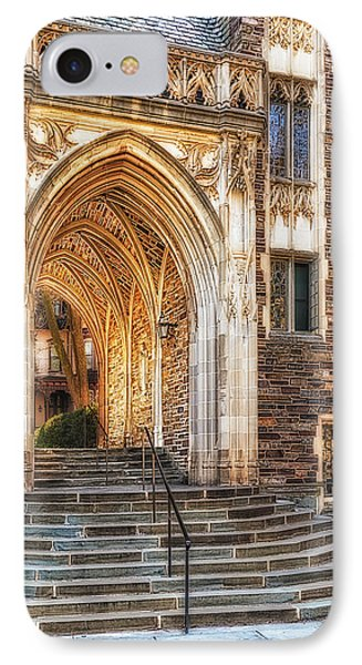 IPhone Case featuring the photograph Princeton University Lockhart Hall Dorms by Susan Candelario