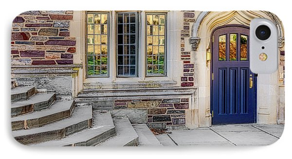 IPhone Case featuring the photograph Princeton University Lockhart Hall by Susan Candelario