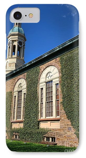Princeton University Nassau Hall Cupola IPhone Case by Olivier Le Queinec