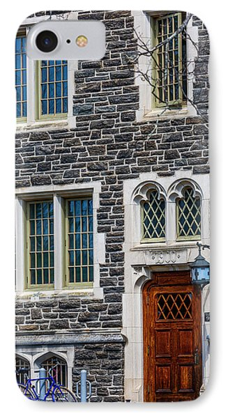 IPhone Case featuring the photograph Princeton University Patton Hall No 9 by Susan Candelario