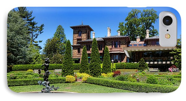 Princeton University Prospect Gardens And House IPhone Case by Olivier Le Queinec