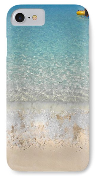 Pristine Beach At Half Moon Cay IPhone Case by Margaret Bobb